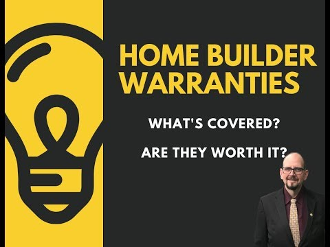 New Home Warranty - What's Really Covered By The Home Builders' Warranty?