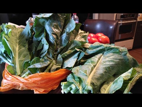 Southern Collard Greens: How to Prep and Freeze Before Needed