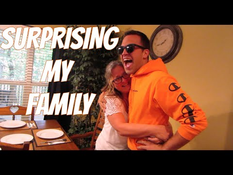 SURPRISING MY FAMILY