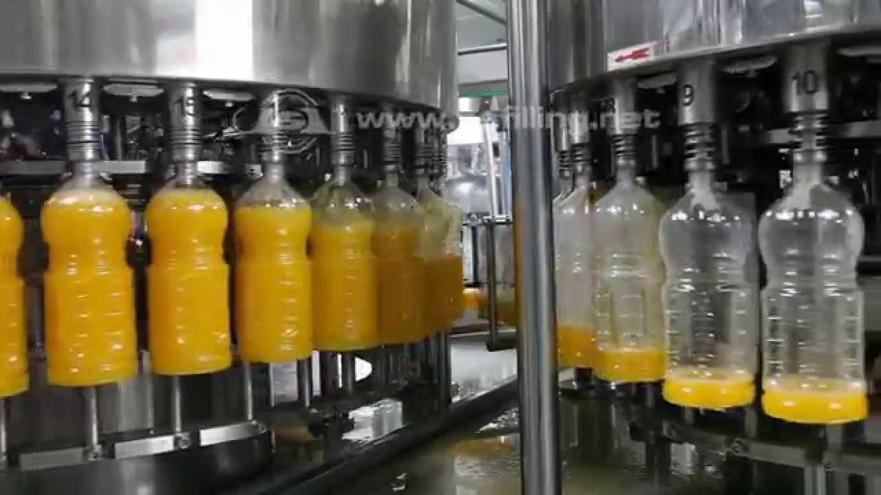 Juice filling machine,juice factory,juice production line,beverage ...: https://www.youtube.com/watch?v=6ZKGUo9YmCA