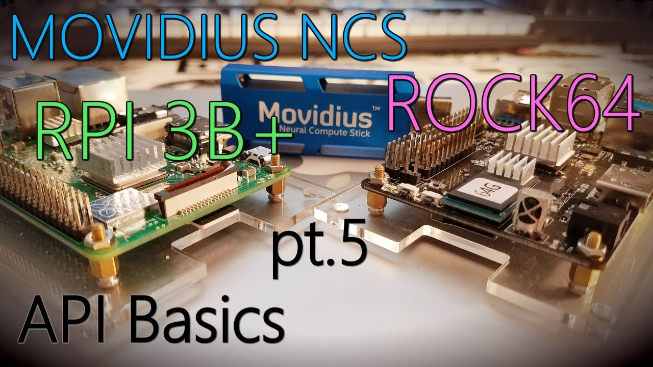 Deep Learning with Movidius NCS (pt 5) MVNC api basics + Mobile SSD Model
