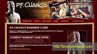 P.F. Chang's Coupons(Learn guitar chords for FREE through our new game Chord Master: http://bit.ly/ChordMasterYT Ask P.F. Chang's for a deal: http://askforadeal.com Ask For a Deal ..., 2011-01-20T22:21:58.000Z)