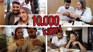1 GÜNDE 10.000 KALORİ ALABİLİR MİYİZ?! w/ Damla Altun