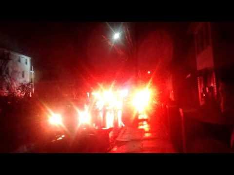 Big fire in Roslindale