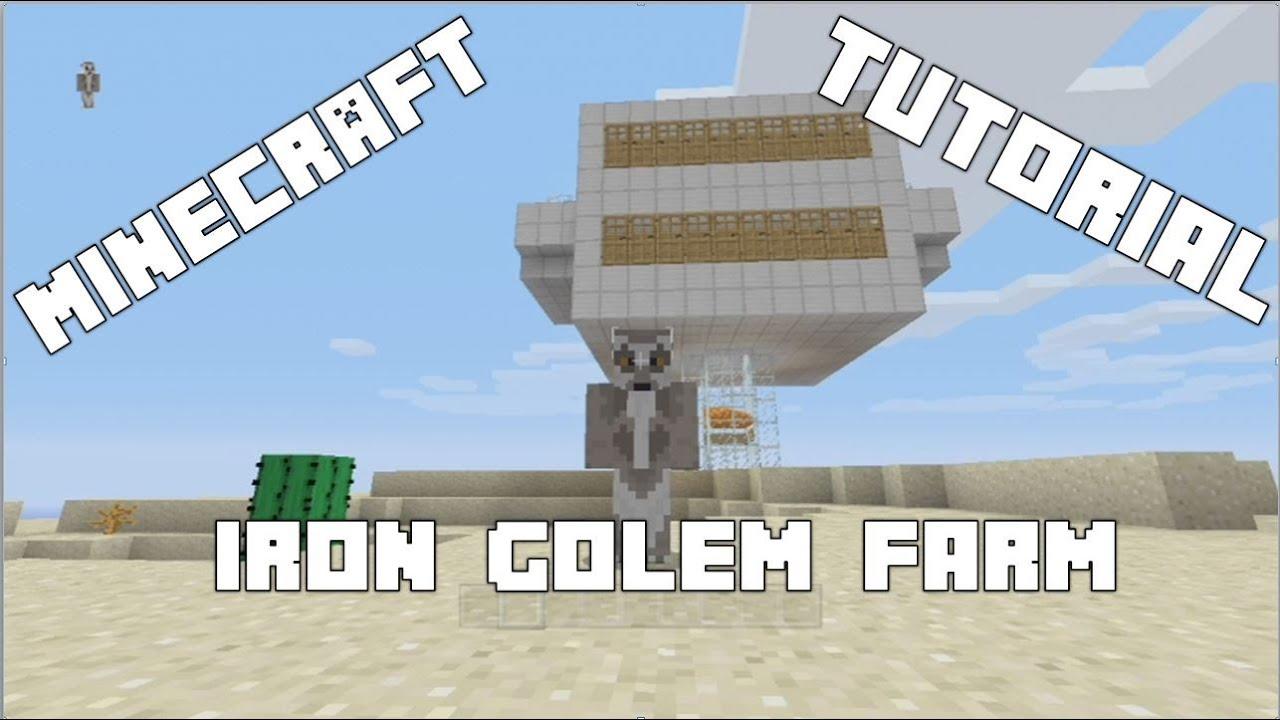 Minecraft Tutorial: Iron Golem Farm (Xbox 10, Xbox One, PS10, PS10, PC)