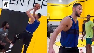 Ben Simmons Becoming A Lethal Shooter! LEAGUE IS NOT READY!