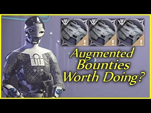The Augmented Weapon Bounties Challenge! (Destiny 2 - Black Armory Bounties) thumbnail