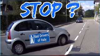 BAD DRIVERS OF ITALY dashcam compilation 11.27