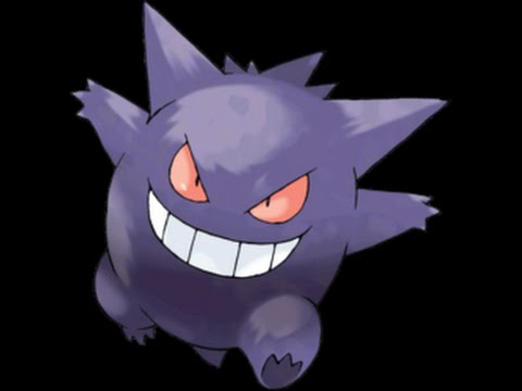 how to draw pokemon gengar