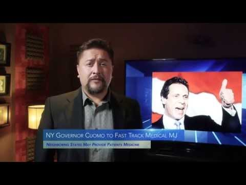 Marijuana Minute Nov 16 2015: Governors Cuomo & Christie Candidates Sanders and Clinton