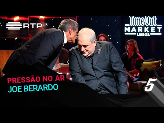 Joe Berardo na #PressãonoAr | 5 Para a Meia-Noite | RTP