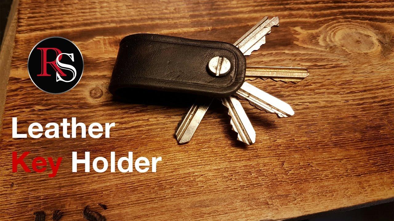 Making A Leather Key Holder Diy