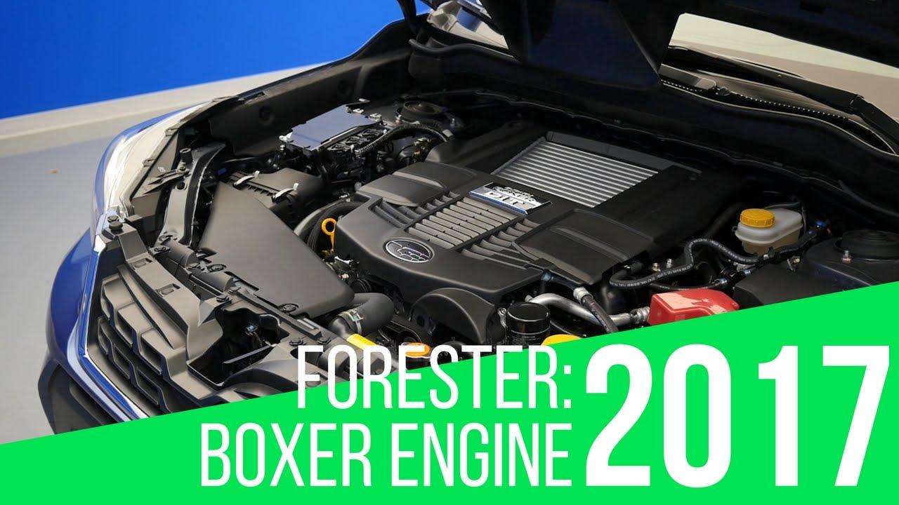 2017 Subaru Forester Boxer Engine