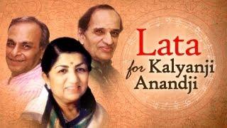 Lata Mangeshkar for Kalyanji Anandji | Vol 1 |  Top Lata Songs | Evergreen Bollywood Songs thumbnail