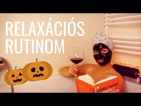RELAXÁCIÓS RUTINOM - Házi Spa edition