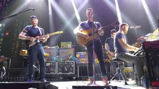 Coldplay - Imagine, Sparks, and Yellow, November 13, 2015