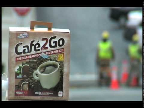 Cafe2Go The Self-Heating Beverage Kit