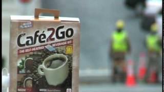 Cafe2Go The Self-Heating Beverage Kit