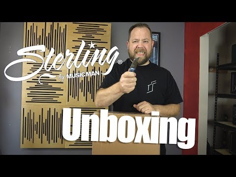 Sterling By MusicMan Guitar UnBoxing!