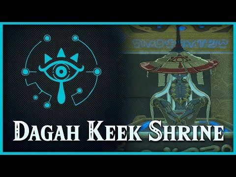 Zelda Breath of the Wild • The Ceremonial Song • Dagah Keek Shrine • Lanayru