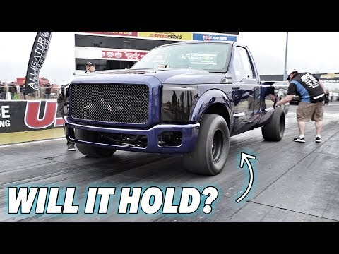 6.7 Powerstroke Race Truck First Pass in Over a Year! - Ultimate Callout Challenge Day 1