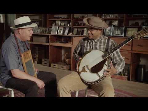 Dom Flemons on David Holt's State of Music- 30s promo