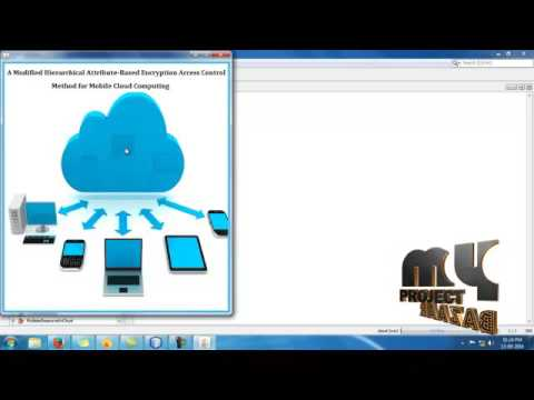 M-HABE Access Control Method for Mobile Cloud Computing | Final Year  Projects 2016 - 2017