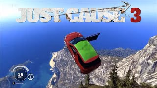 Gambar cover Just Cause 3 Crashing all sports cars off Canyon Tour Cliff