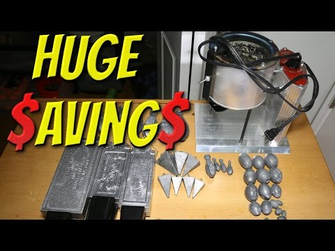How To $ave Huge On Fishing Weights And Lead!!! (Tackle Tuesday #24)