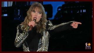"Taylor Swift - ""Don't Blame Me"" Clip - Reputation Tour Rose Bowl Night 1"