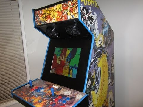 MAME Cabinet - My MAME Arcade Cabinet - YouTube
