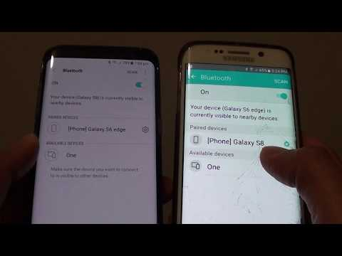 samsung-galaxy-s8:-how-to-pair-bluetooth-with-another-device