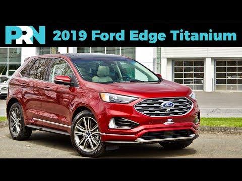 2019 Ford Edge Titanium Elite AWD Full Tour & Review
