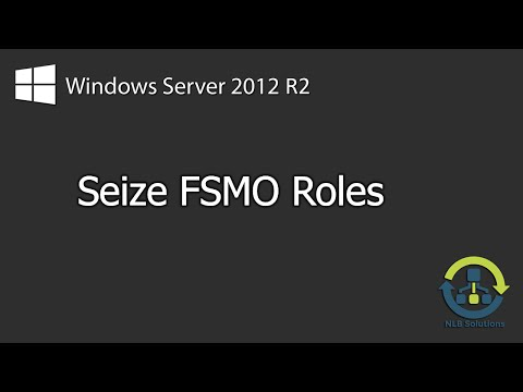 How to seize FSMO roles on Windows Server 2012 R2 (Explained)