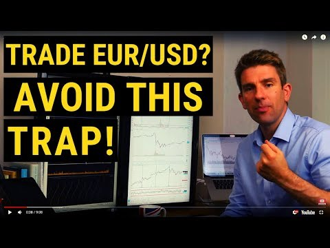 Trading The EUR/USD? Avoid This Trap! (Warning!) ❗