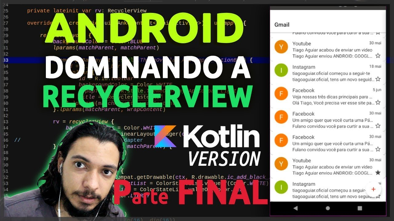 ANDROID: RECYCLERVIEW | DELETE MULTIPLE ITEMS | KOTLIN #6 - FINAL