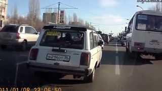Смешные женщины за рулем авто    видеоприколы июнь 2013