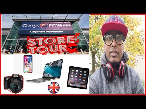 Store Tour | Checking Laptops, Mobiles, Tablets, Camera Prices | Currys Pc World   | Study In UK
