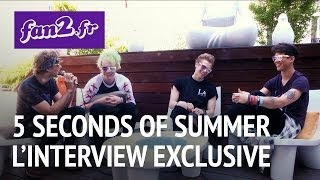 5 Seconds Of Summer à Paris :