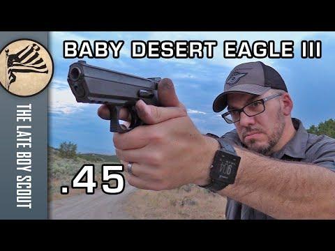 Baby Desert Eagle III .45 acp