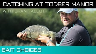 Catching At Todber Manor - Bait Choices