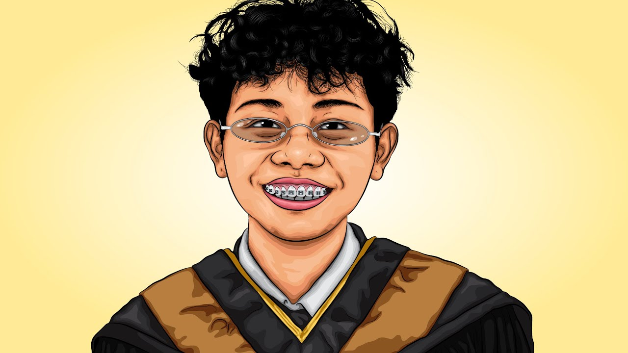 งานรับปริญญา Graduation | Adobe Illustrator #17 (วาดรูป รับปริญญา ด้วย Ai)