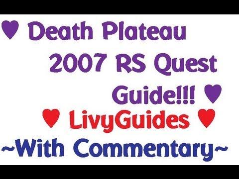 ♥Death Plateau 2007 RS Quest Guide ♥