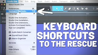Keyboard Shortcuts to the Rescue