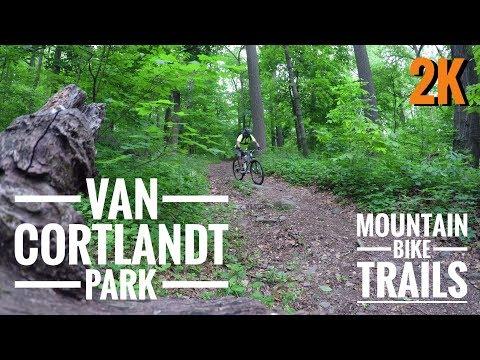 Van Cortland Park | NYC | 🚲 Mountain Bike Trails 2K
