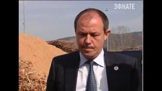В Апшеронске прошел снег из опилок Новости Сочи Эфкате