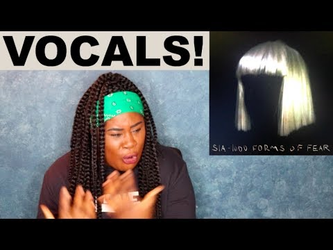 Sia - 1000 Forms of Fear Album |REACTION|