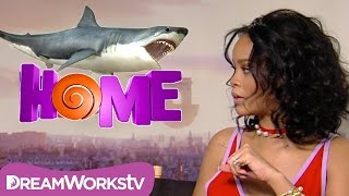 Rihanna & Jim Parsons: Diving with Sharks | HOME