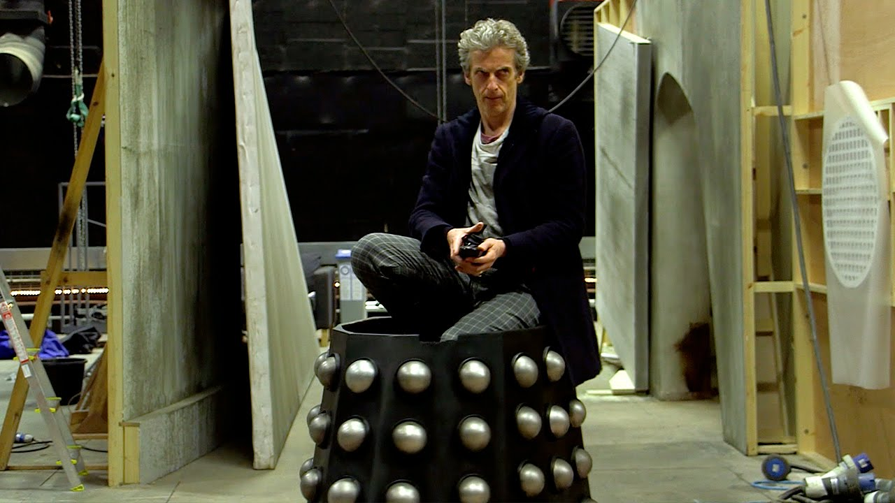 The Doctor Drives Davros Chair  The Witchs Familiar