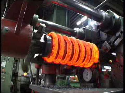 Eibach Springs Being made